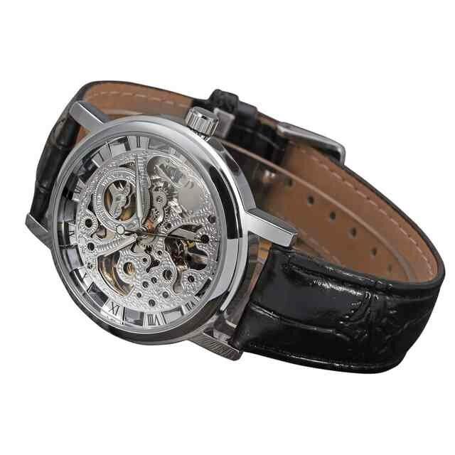Внешний вид.Часы Winner Classic Silver