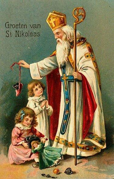 Святой Николаус, Санта