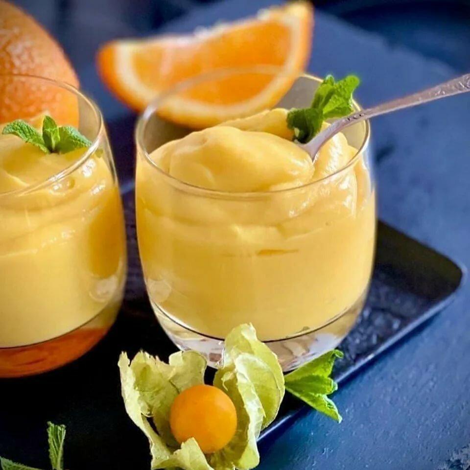рецепт апельсинового мусса