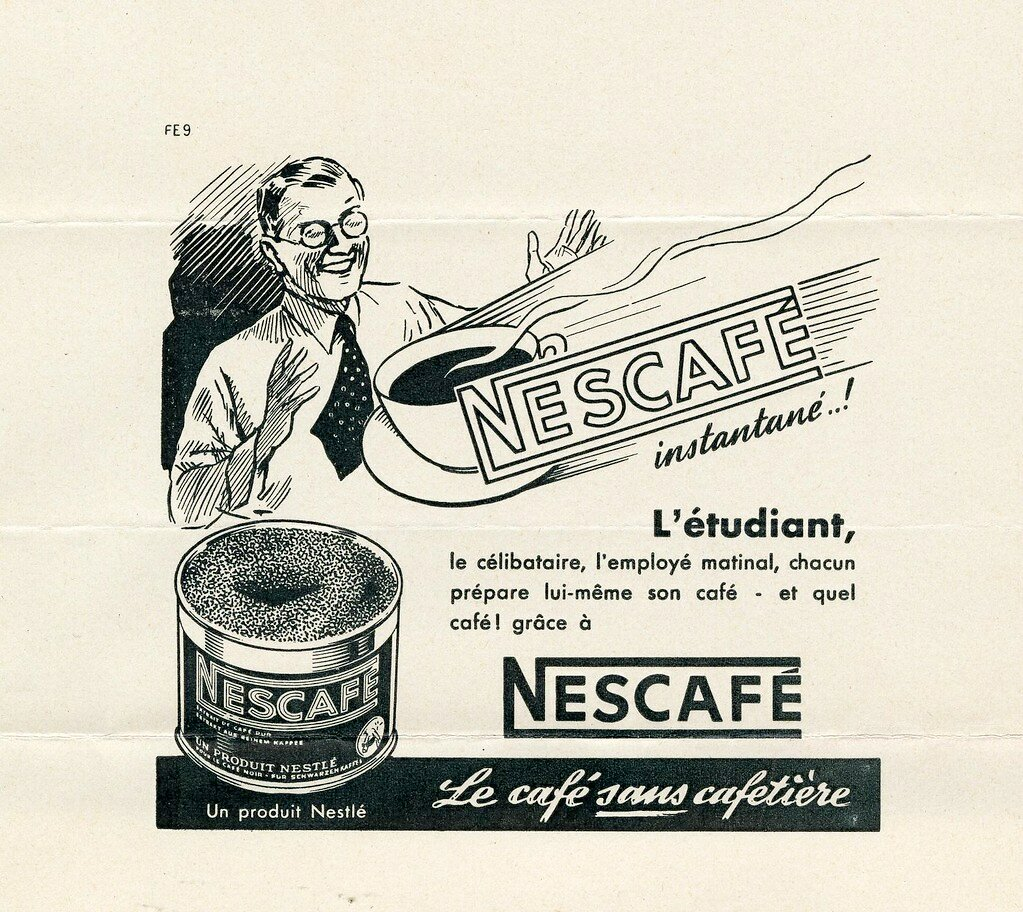 24 июля 1938 года на рынке появилась первая популярная марка растворимого кофе