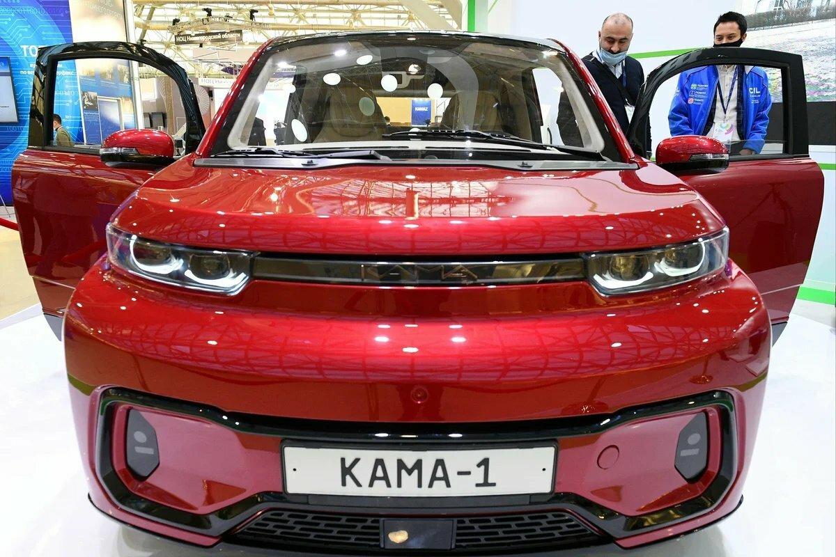 Электромобиль Кама-1 от КамАЗа