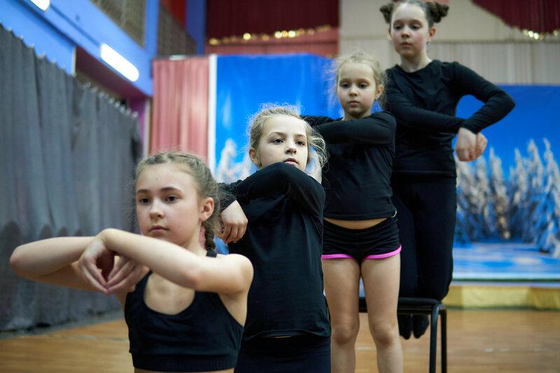 Малая группа. репетиция танца. Март, 2021