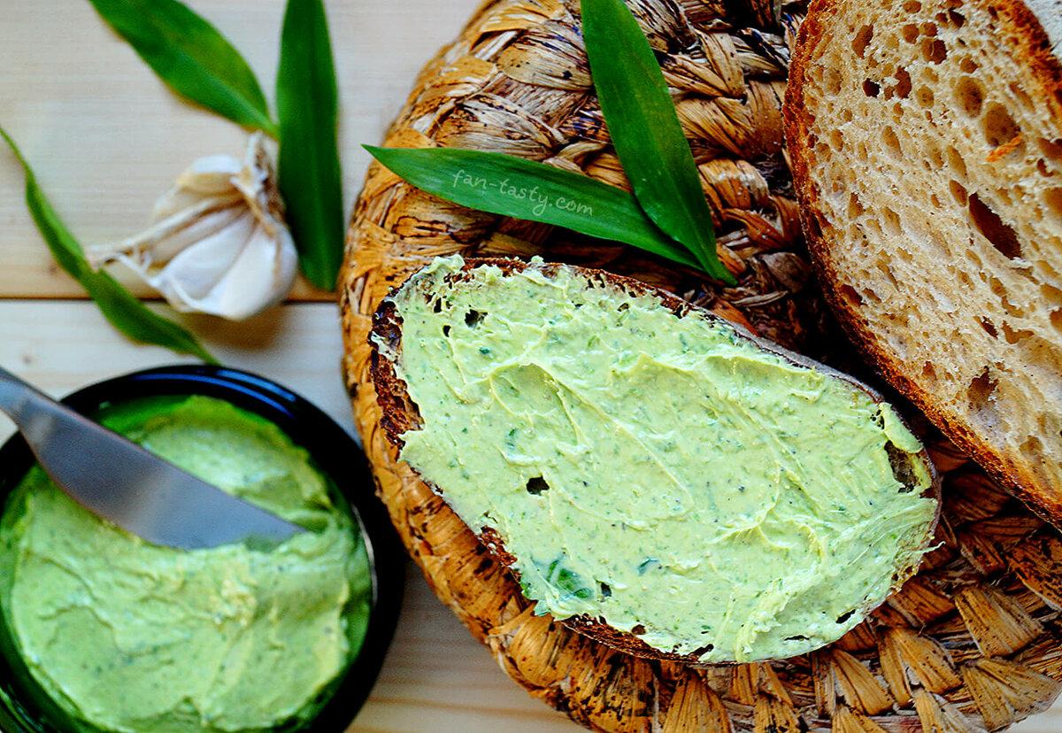 рецепты бутербродных масел с травами и овощами