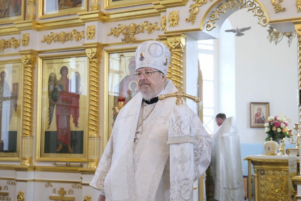 Правящий архиерей: Только молитва верующего спасает мир - Красноярская епархия Русской Православной Церкви