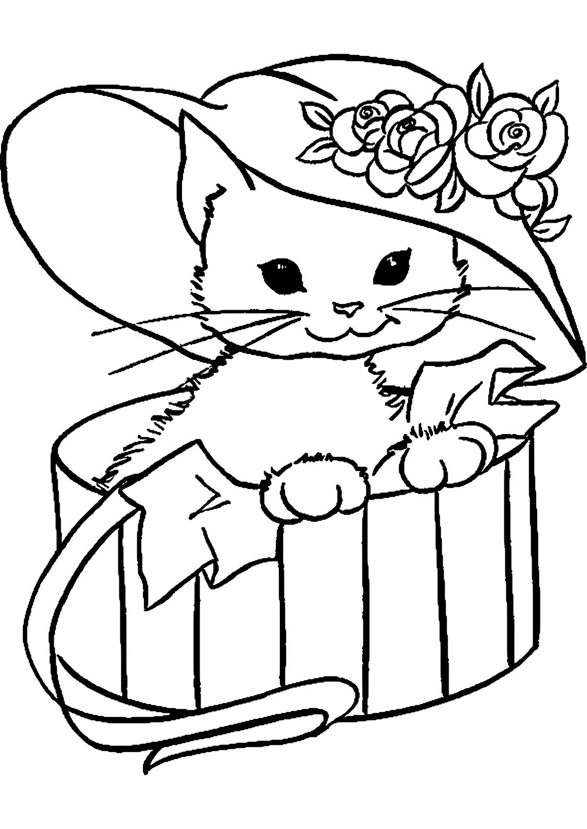 открытка с кошкой распечатать самые интересные обсуждаемые
