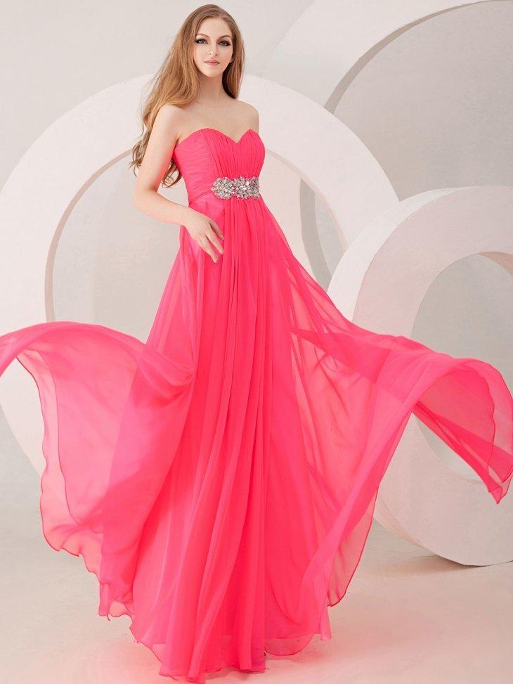 Картинки с розовым платьям