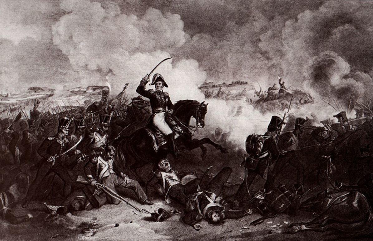 Открытки бородинская битва