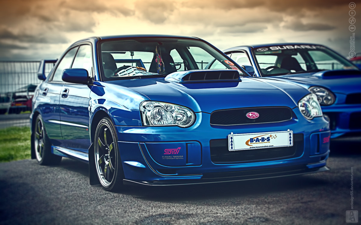Subaru Impreza Wrx Sti Wallpaper Wallpapersafari Card From User