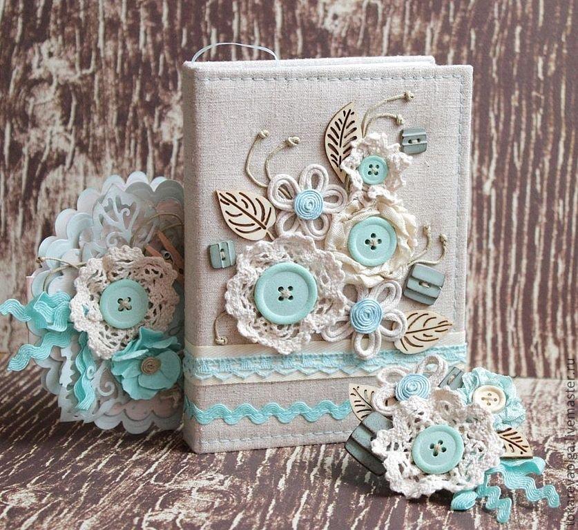 Открытки, открытка текстильные