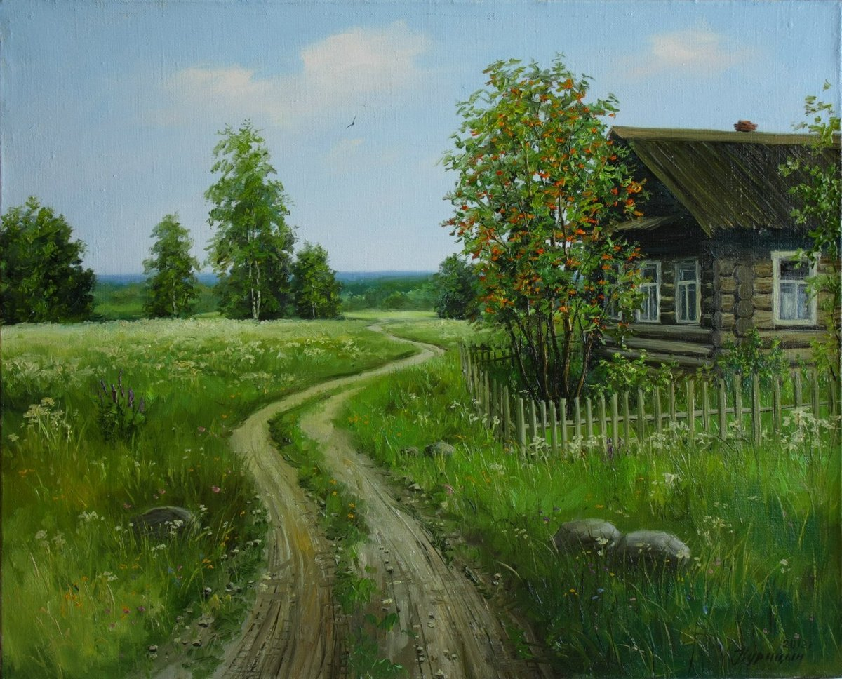 Картинки с деревней