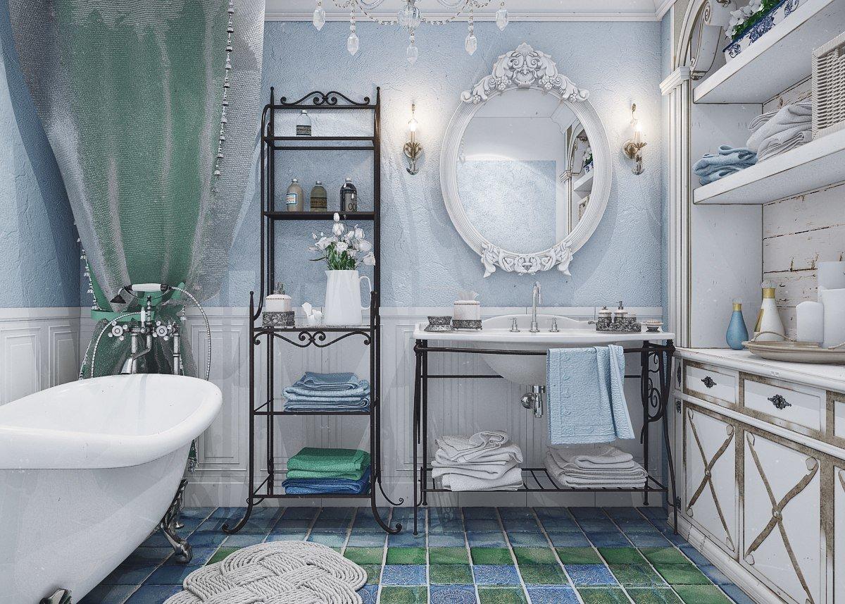 француженка в ванной