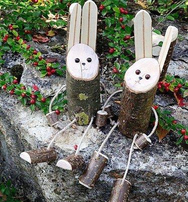 поделки для сада своими руками все новинки из дерева