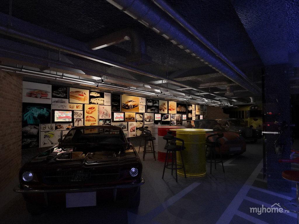 картинки гараж клуб тех