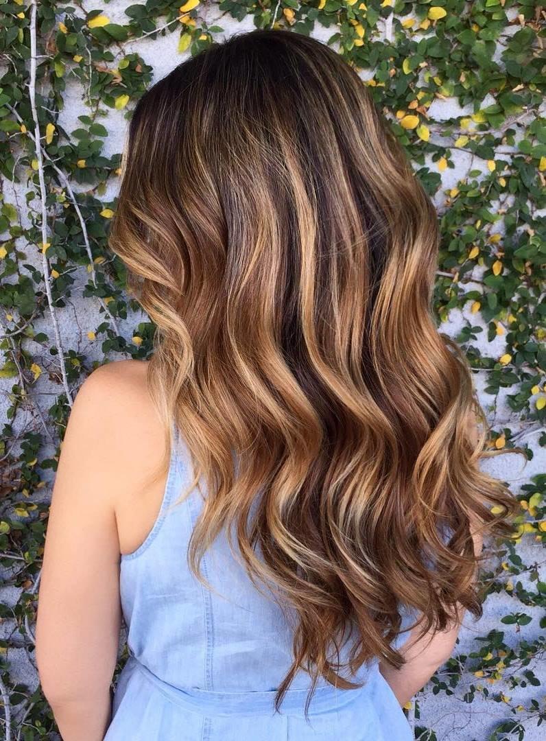 100 caramel highlights ideas for all hair colors - 736×1080