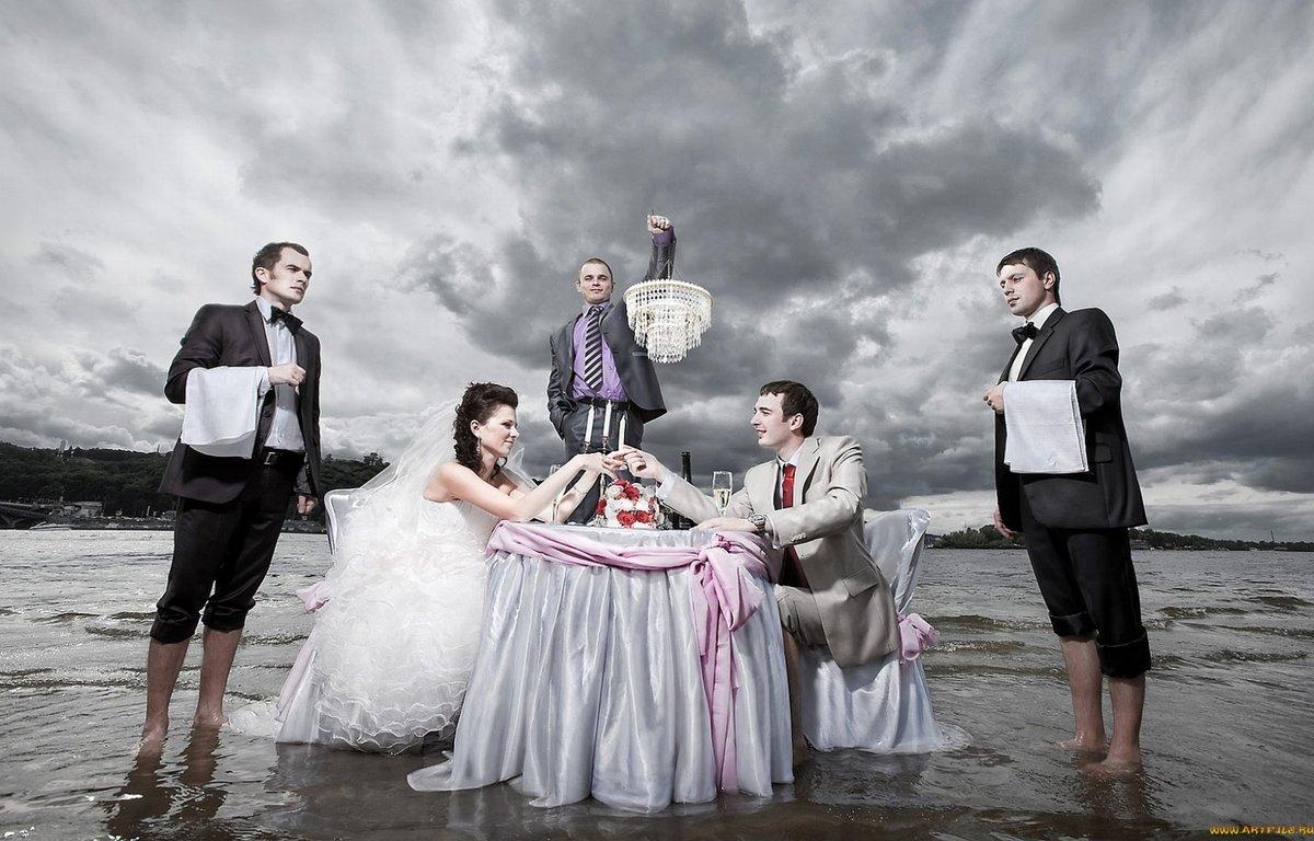 Фото креативных женихов и невест