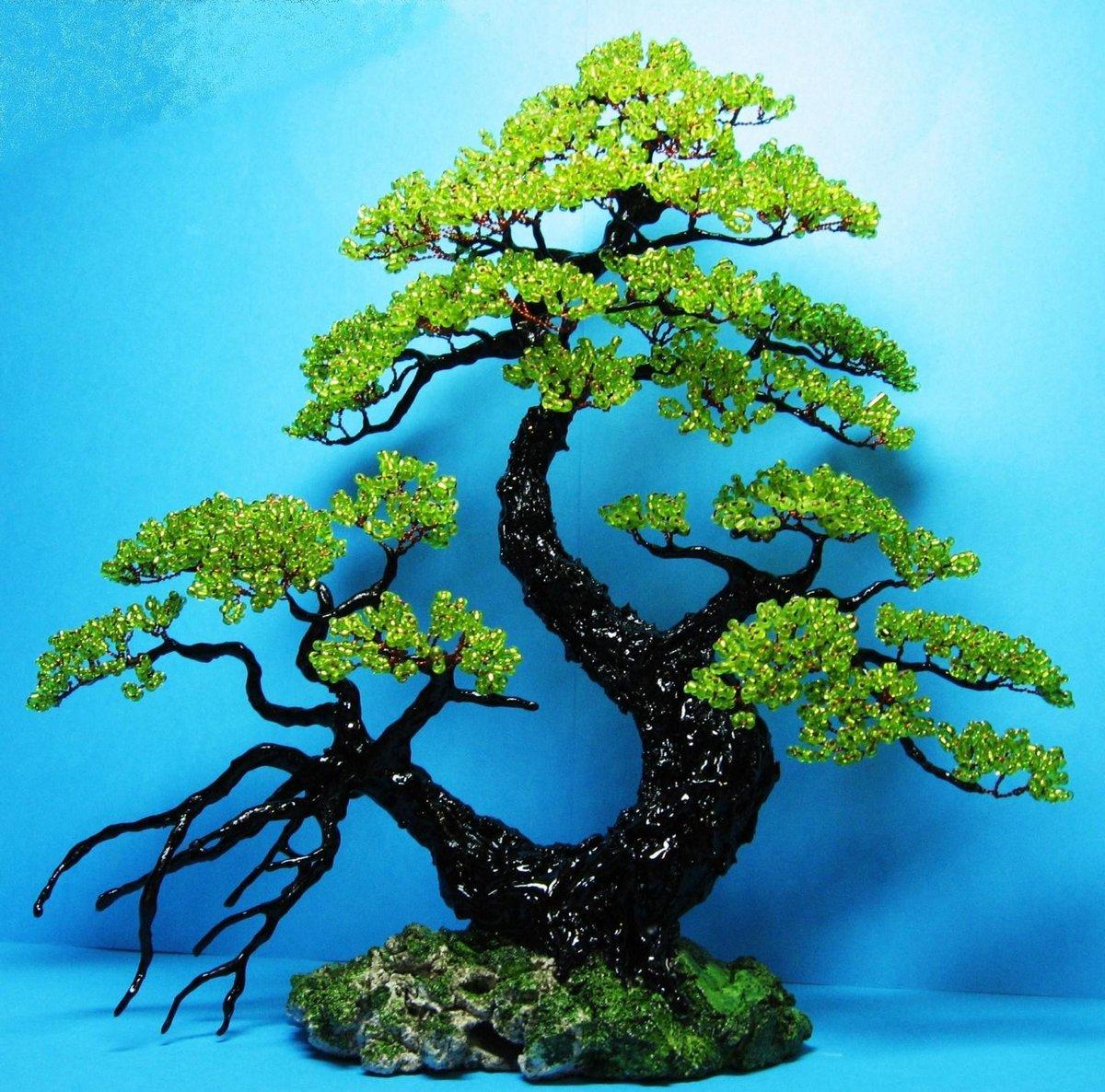 ищете картинки дерево из бисера поэтапно рассматривать удивительные