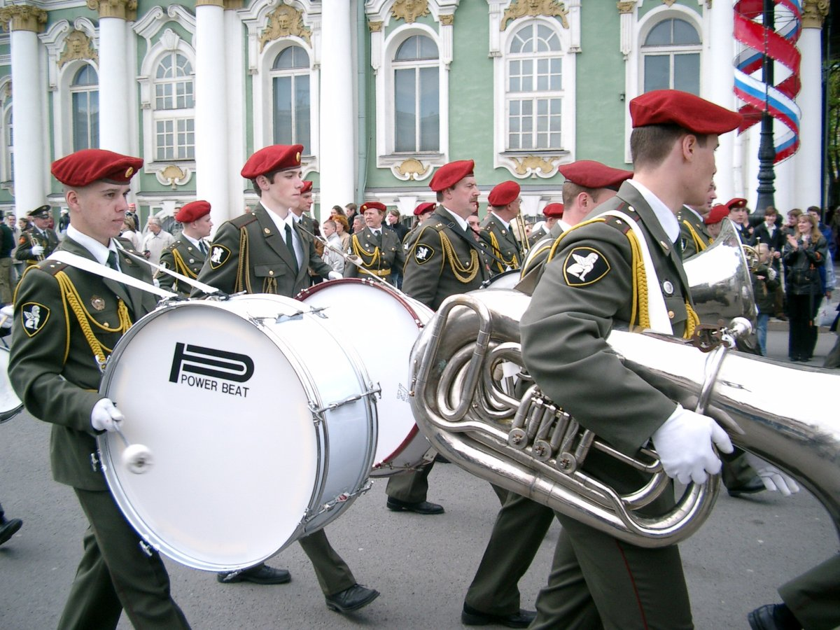 картинки с военными оркестрами