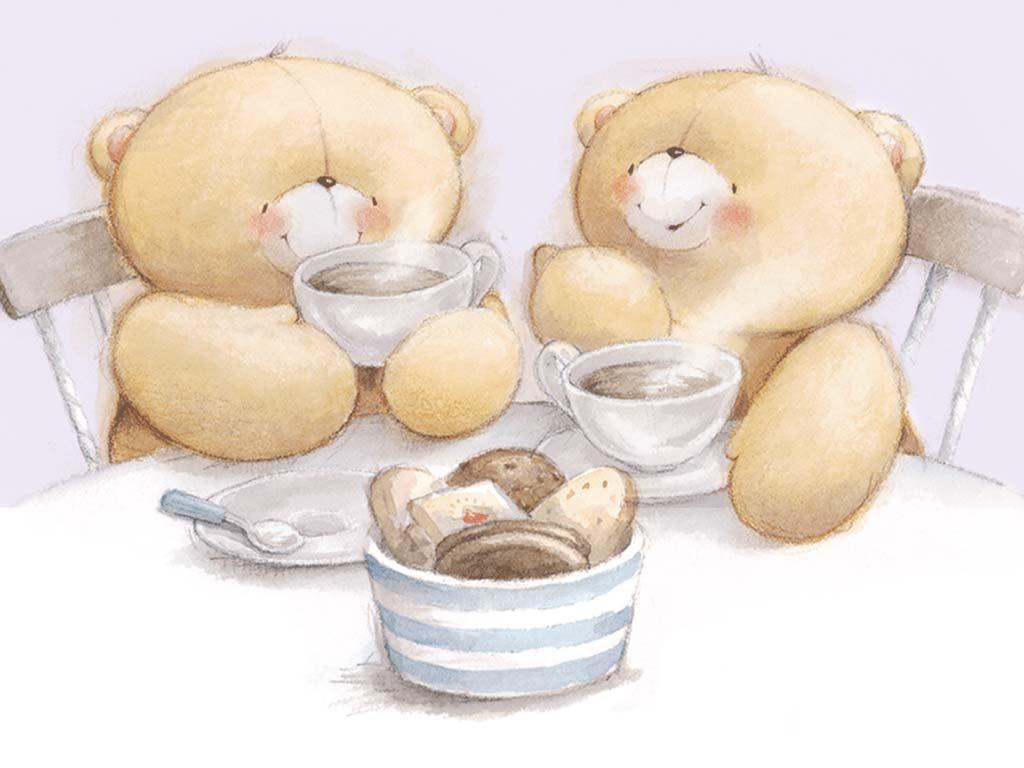 Картинки с мишками прикольные милые, марта бабушке