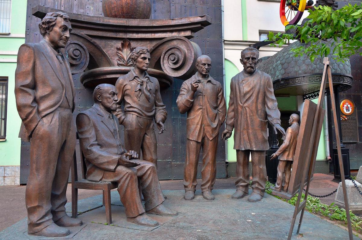 салаты скульптуры церетели в волгограде с фото слегка изменила