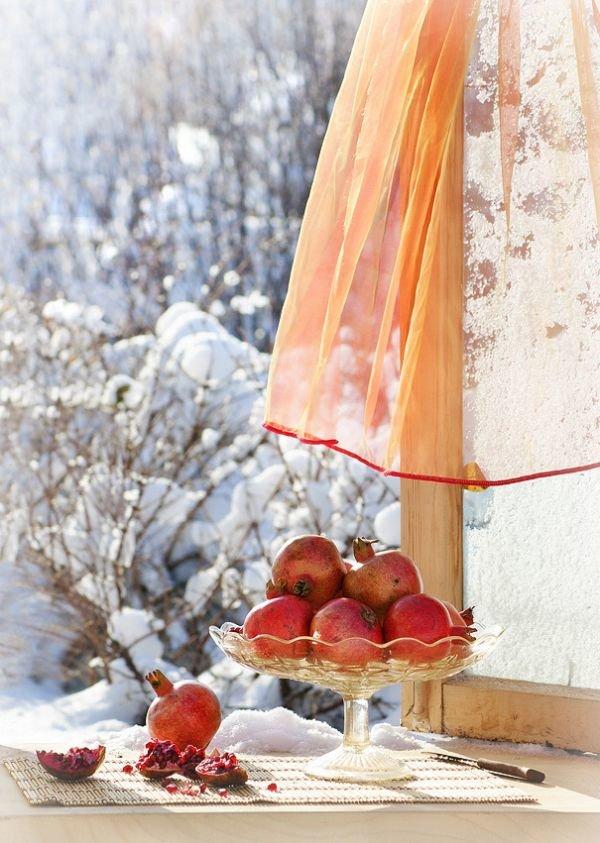 Зимние натюрморты фото