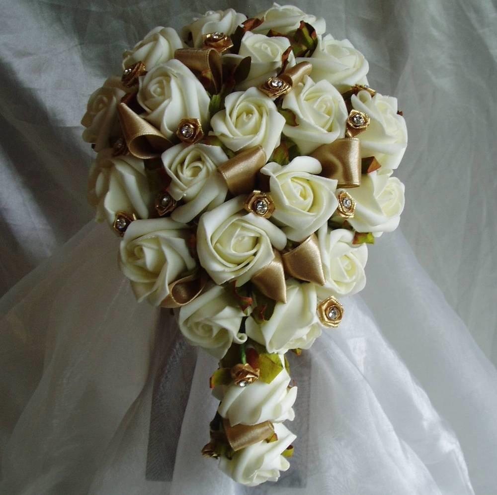 Букет на золотую свадьбу заказать, подарки, цветы горшки