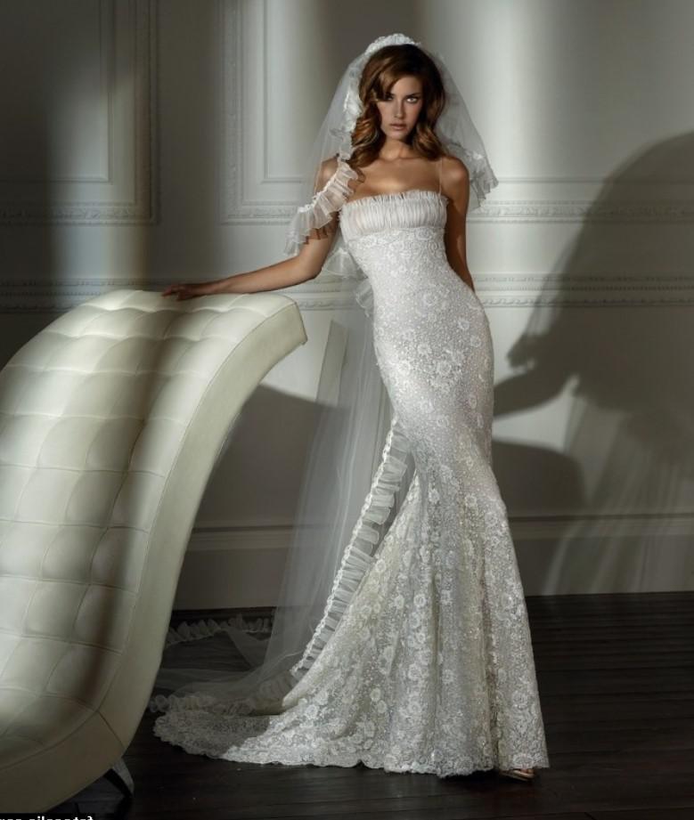 Картинки свадебного платья русалка