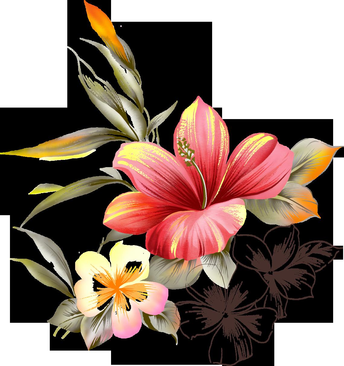 Картинки нарисованные цветы, открытка своими