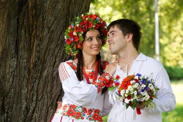 Красивая украинская пара 1