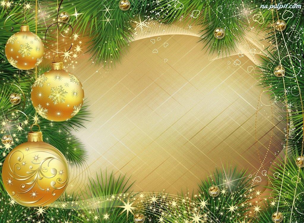 Фон для открыток новогодних
