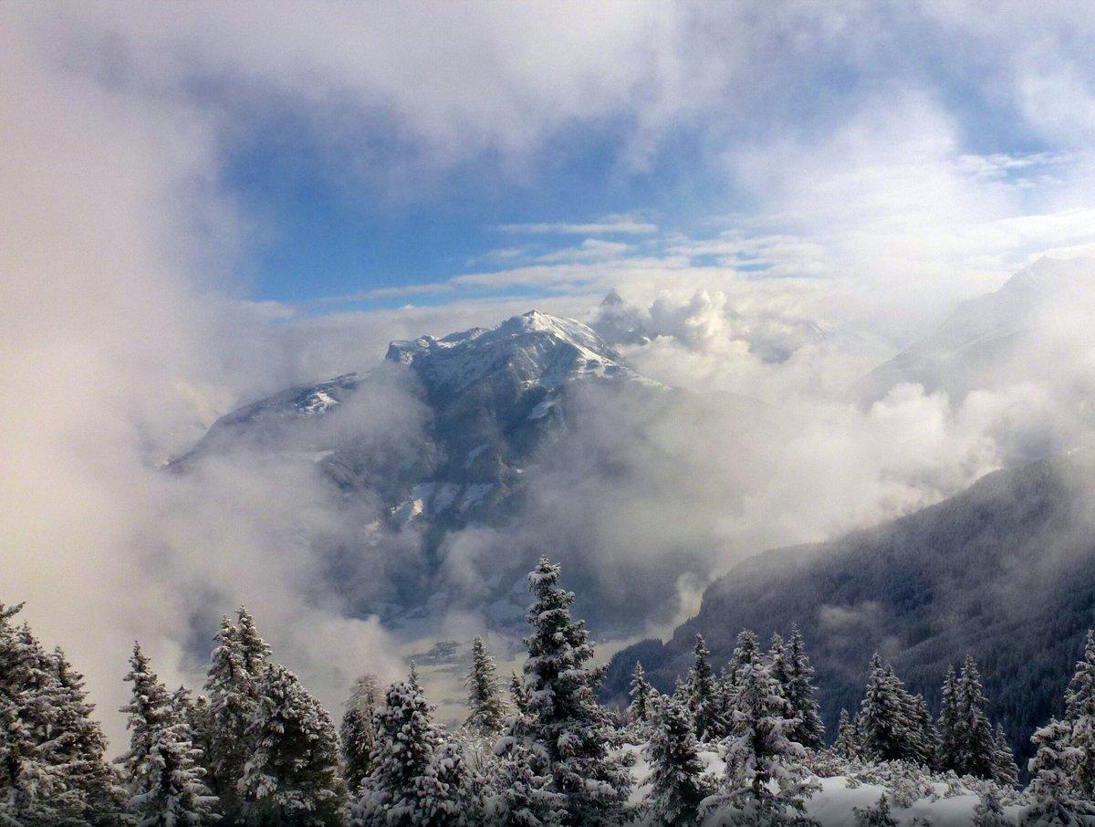 Туманные горы картинки