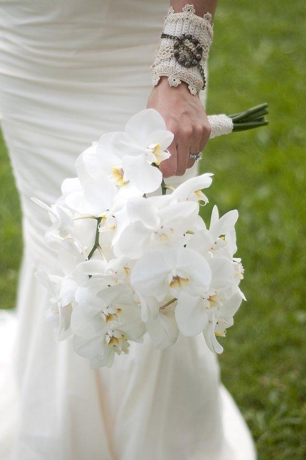 Цветов городе, легкие свадебный букет из орхидей цена харьков