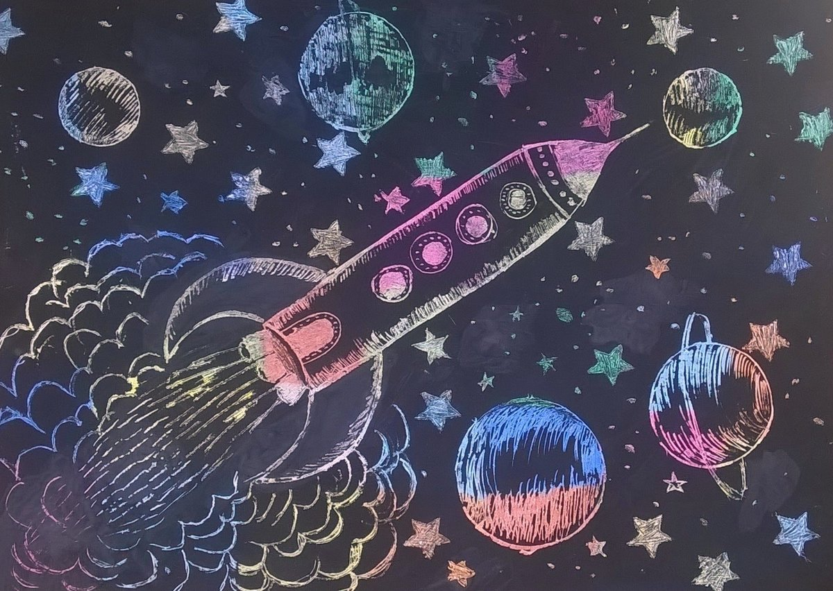 Картинки с космоса для детей, заготовка фотошоп