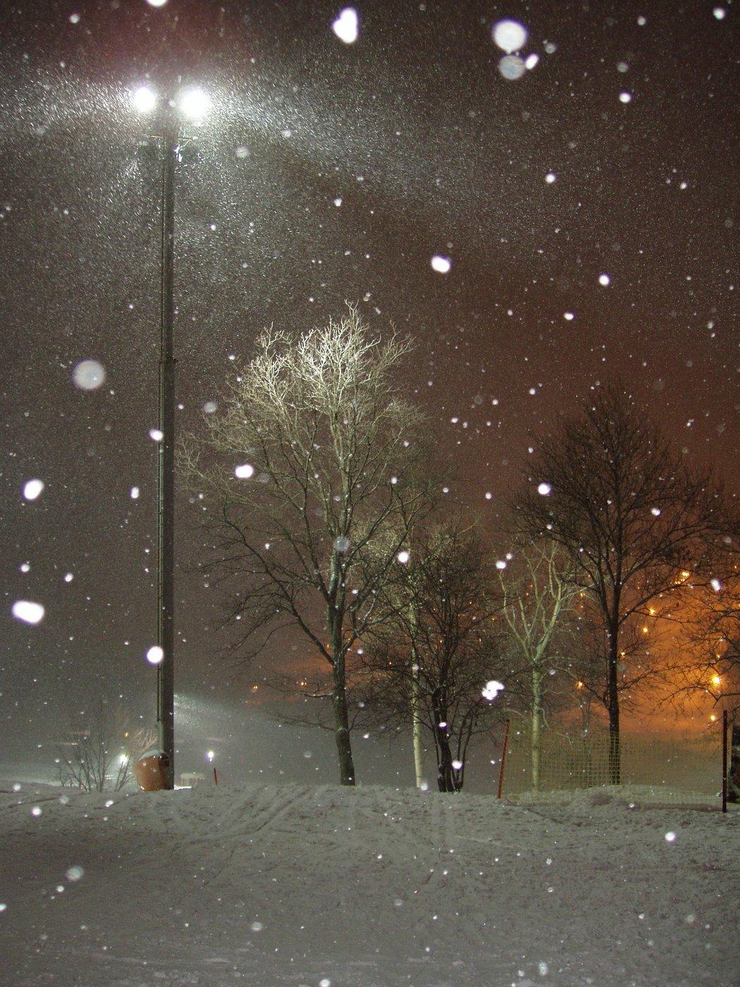 такой проект как сделать фото с падающим снегом одна частая