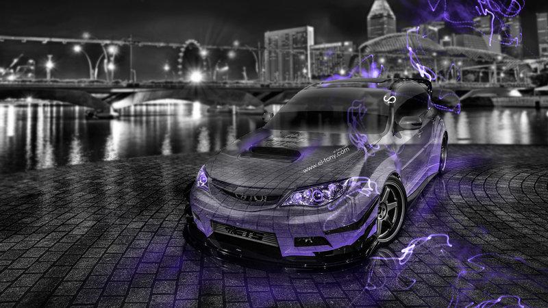 Charming Subaru Impreza WRX STI JDM Crystal City Car