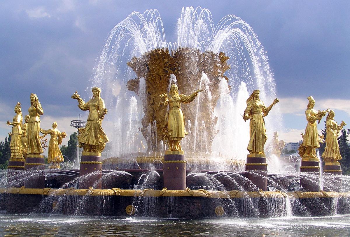Картинки фонтаны на экран