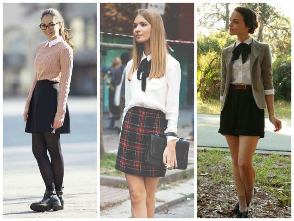 Как одеваться старшекласснице в школу студентке в ВУЗ