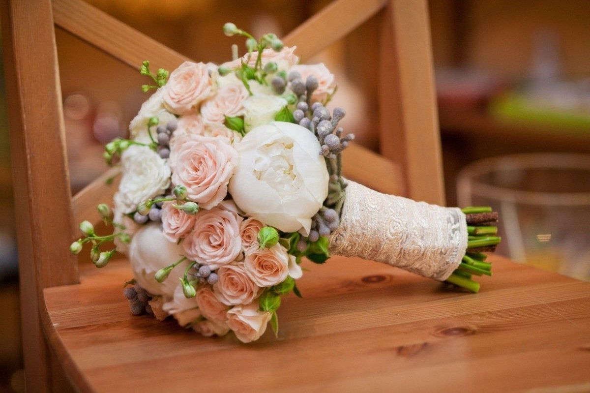 Свадебные букеты италия