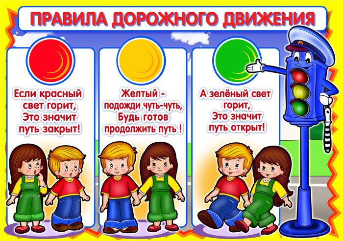 Правило дорожного движения для детей с картинками
