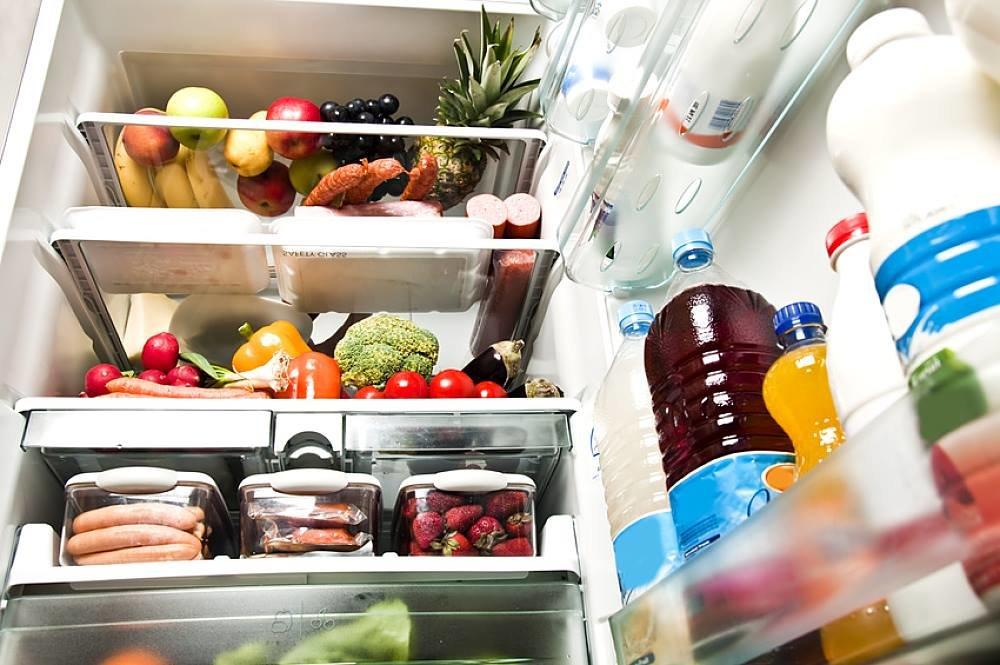 Выздоравливай анимированная, картинка холодильника с продуктами