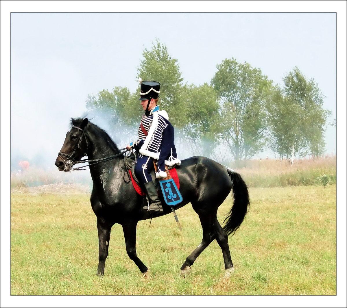 фото гусар на коне естественную