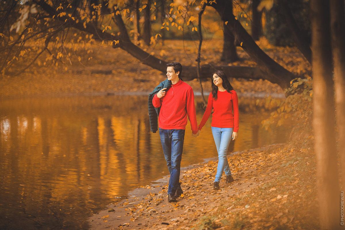 пара фото осень это время