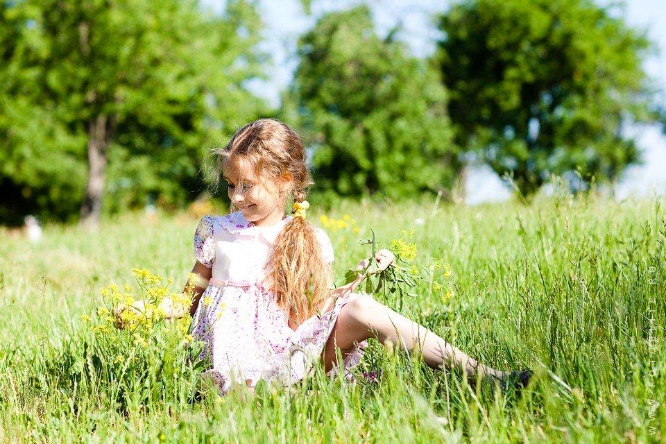 Детские картинки летом на природе