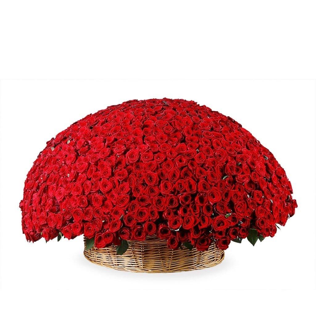 Цветы видном, букет 1001 роза цена