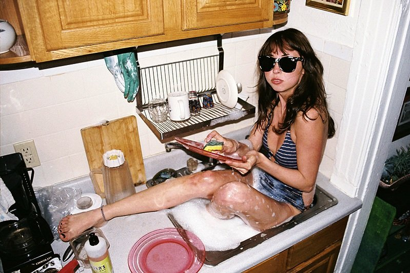 пьяные на кухне она