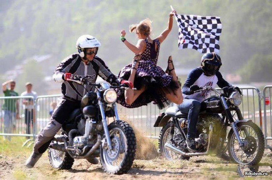 Смешные картинки с мотоциклами, смешная картинка
