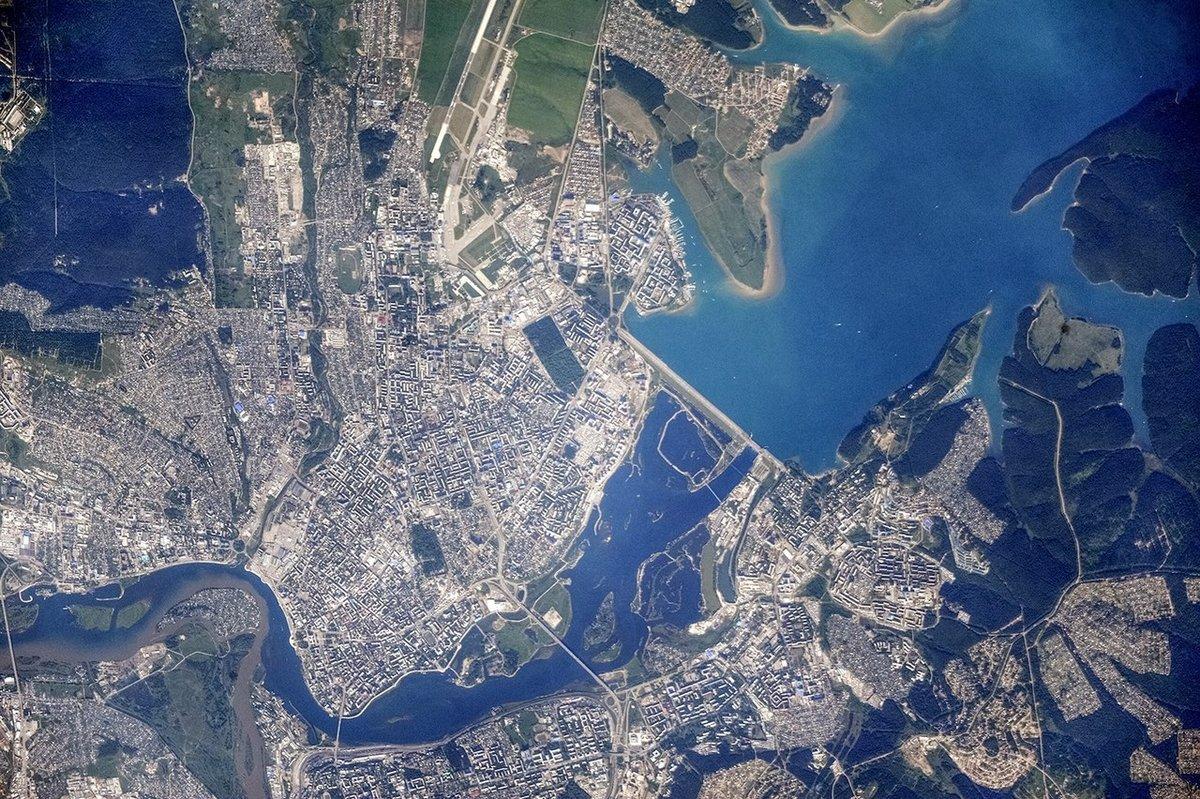 ульяновская область фото из космоса годы