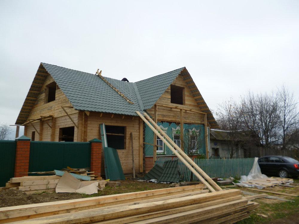 Реконструкция деревянного дома фото до и после