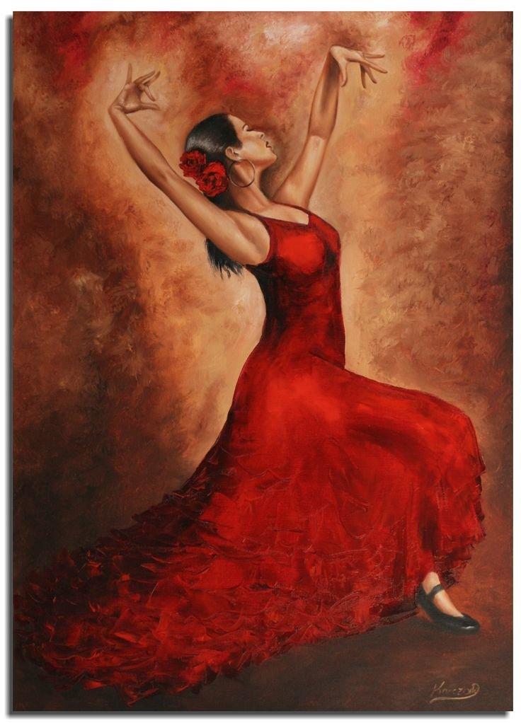 Днем рождения, картинки фламенко рисунки