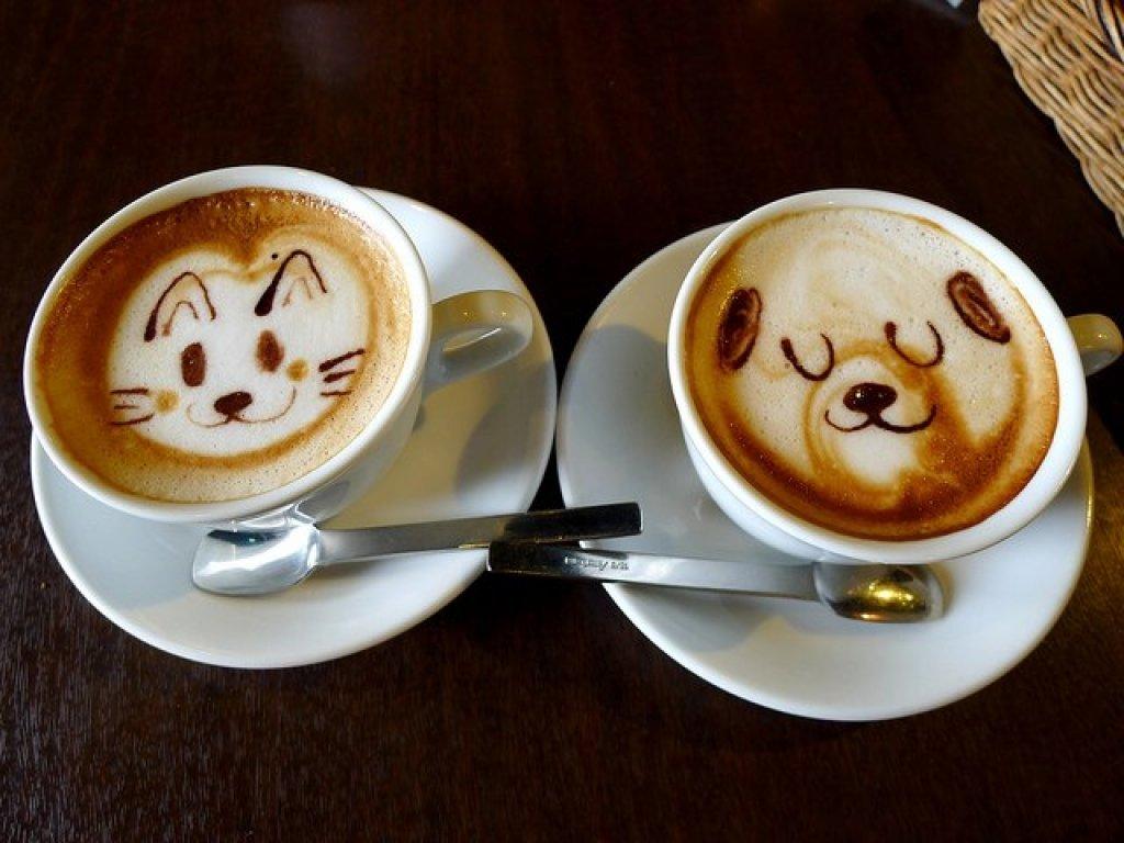 Прикольная чашка кофе картинки, открытки днем