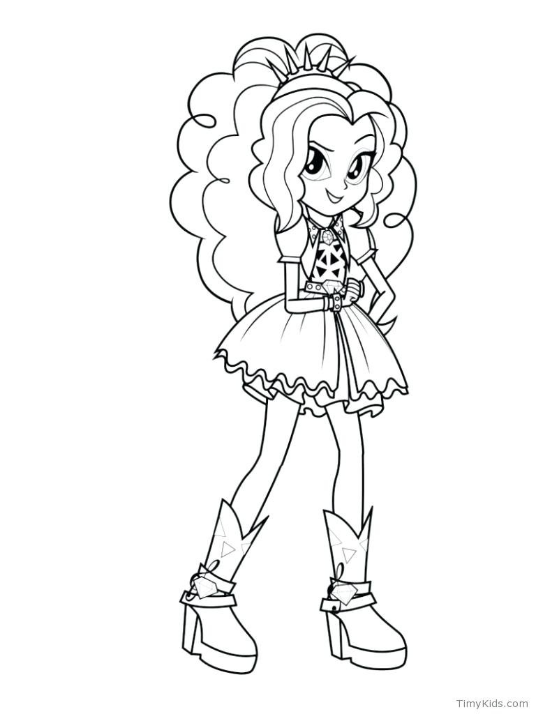 My Little Pony Coloring Pages Equestria Girls - Coloring Hom ...